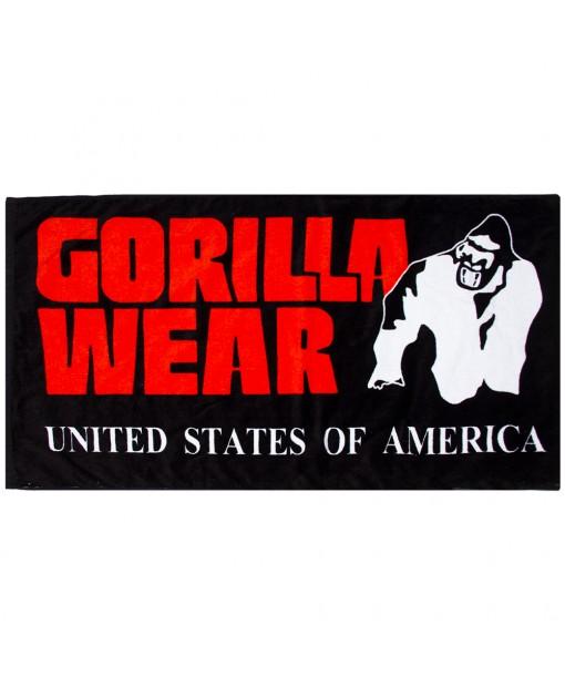 Полотенце Classic Gym Towel Black/Red