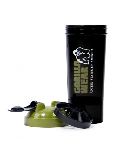 Shaker Compact Black/Army Green 3