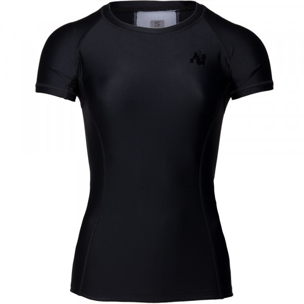 Carlin Compression Short Sleeve Top