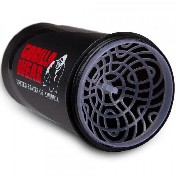 Gorilla Wear Wave Shaker 600ML - BlackRed
