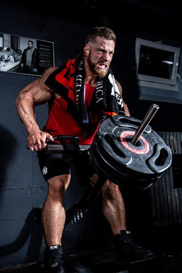 Полотенце Classic Gym Towel Black/Red2